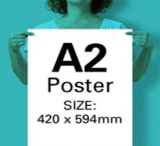 A2 Posters: 420mm x 594mm