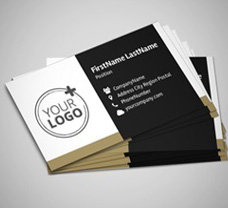 Business Cards: 50mm x 90mm
